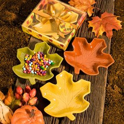 Fall Leaf Candy Dish