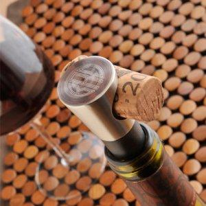 Monogrammed Vintage Wine Stopper