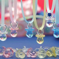 Baby Pacifier Necklaces