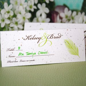 Plantable Seed Place Card