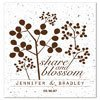 Personalized Plantable Celebration Seed Card Favor Share And Blossom