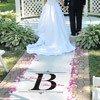 Custom Printed Wedding Aisle Runner Regal