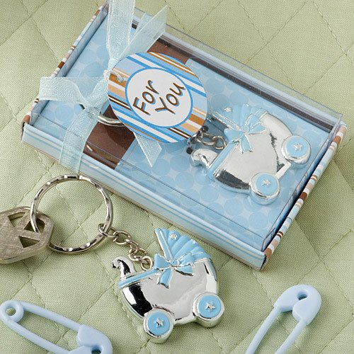 Baby Carriage Key Chain Favor