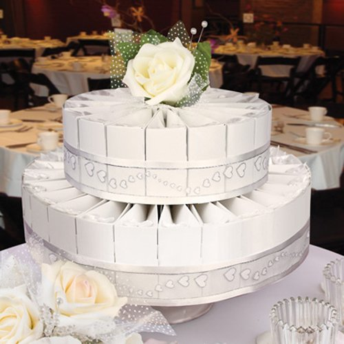 Two Tier Wedding Favor Cake