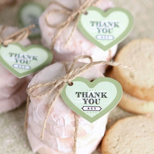 Personalized Heart  Tags