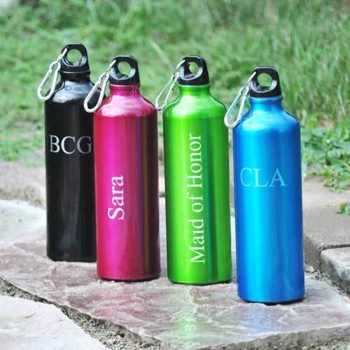 Personalized Color Aluminum Water Bottles