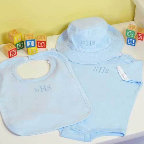 Personalized Baby Boy Apparel Gift Set