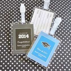 Personalized Acrylic Graduation Luggage Tags