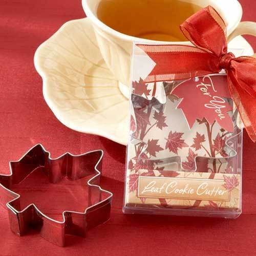Fall Leaf Cookie Cutter Favors