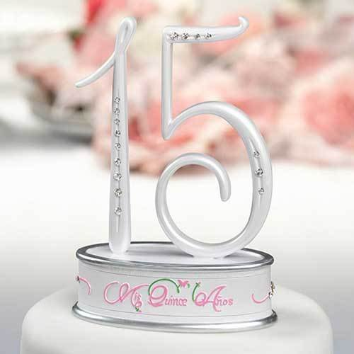 Mis Quince Anos Cake Topper