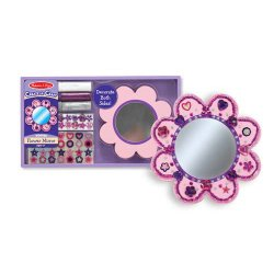 Decorate Your Own Flower Mirror Party Favor