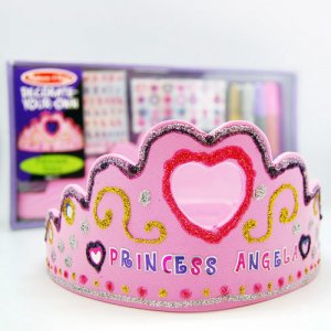 Decorate Your Own Princess Tiara Party Favor