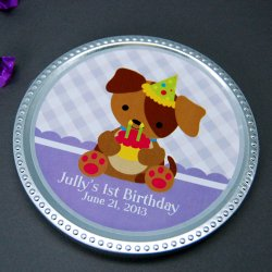 Personalized Birthday Chocolate Disc Favor