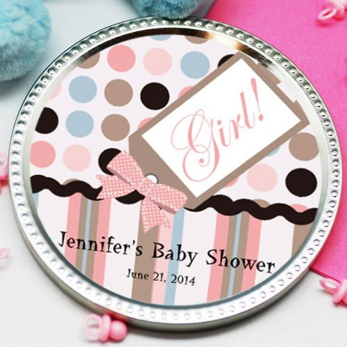 Personalized Baby Shower Chocolate Disc Favor