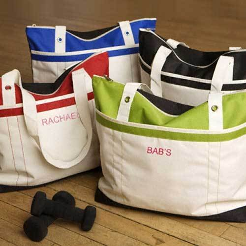 Personalized Gym Tote