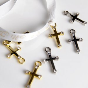 Mini Cross Charms