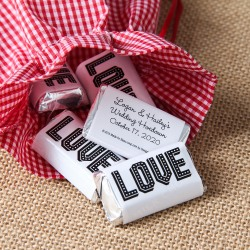 Personalized Wedding Hershey's Miniatures