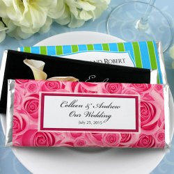 Personalized Wedding Hershey's Chocolate Bars