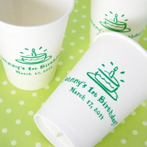 Personalized Birthday Paper Cups