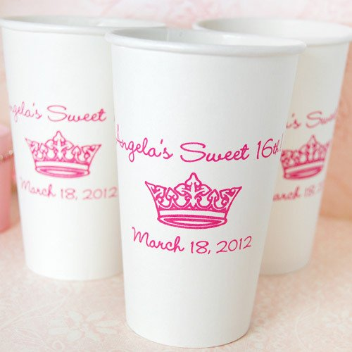 personalized paper cups Get best value bulk prices on paper coffee cups and water cups easily add your logo, writing or design and customize in full color across a number of styles.