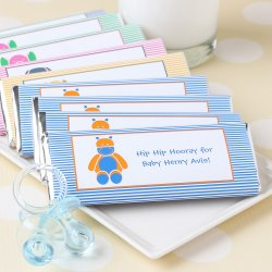Personalized Baby Shower Hershey's Chocolate Bars
