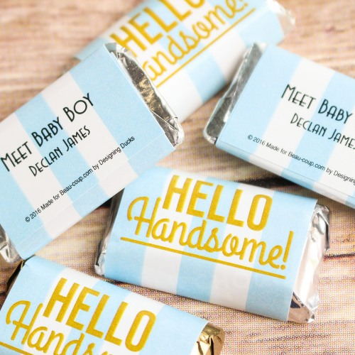 Personalized Hello Handsome Miniatures