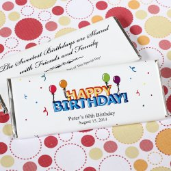 Personalized Birthday Hershey's Chocolate Bars
