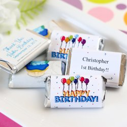 Personalized Birthday Hershey's Miniatures