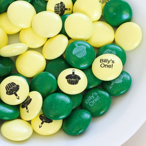 Personalized 1st Birthday Mint Chocolate Candy