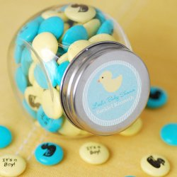 Personalized Baby Shower Mint Chocolate Candy