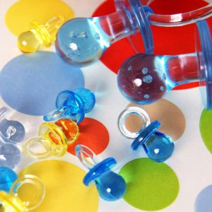 Small Plastic Pacifiers