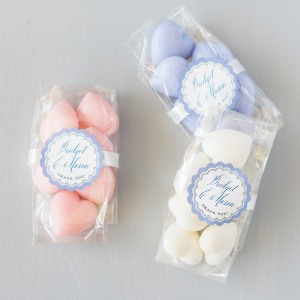 Bulk Mini Heart Shaped French Soaps