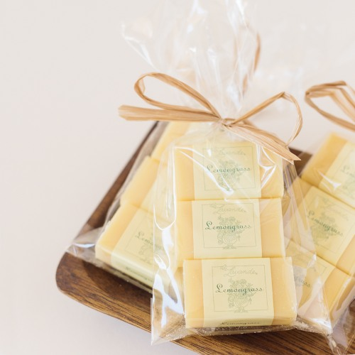 Lemongrass Soap Favors