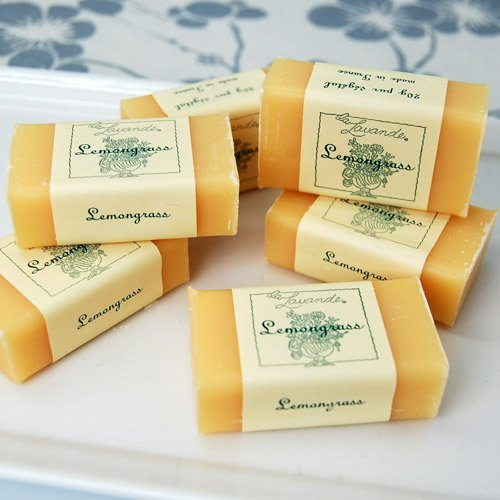 Bulk Mini Lemongrass French Soaps