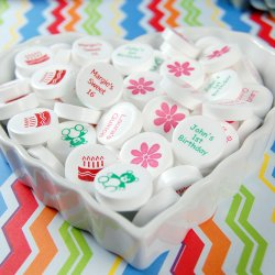 Custom Printed Bulk Birthday Mints