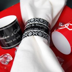 Personalized Wedding Napkin Band