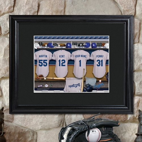 Personalized MLB Clubhouse Print
