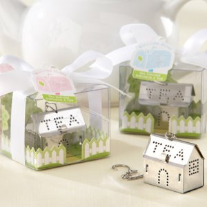 """Welcome Home"" Mini House Tea Infuser"