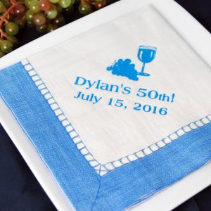 Personalized Pattern Birthday Napkins