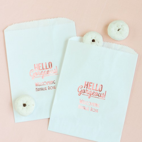 Personalized Baby Shower Sweets 'n Treats Bag
