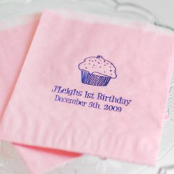 Personalized Birthday Cake Bag