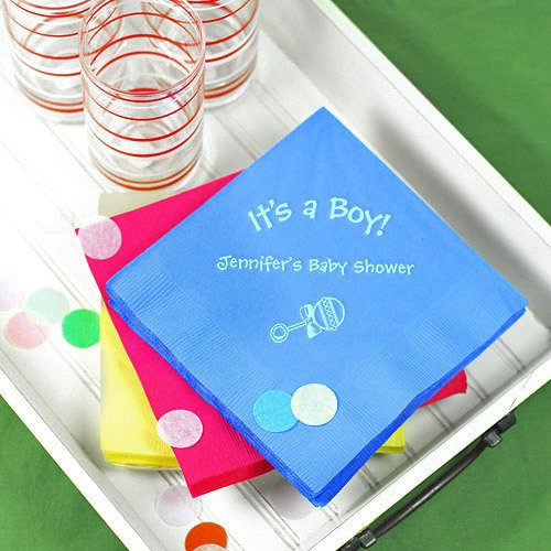 Personalized Baby Shower Napkins