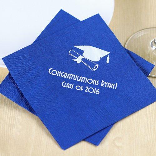 Personalized Graduation Party Napkins