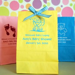 Personalized Baby Shower Goodie Bags