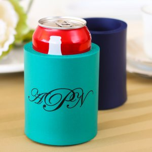 Personalized Wedding Can Sleeve