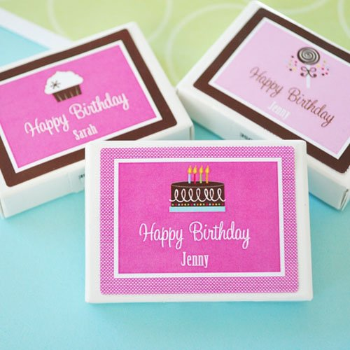 Personalized Birthday Gum Favors