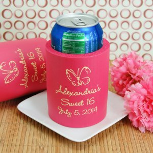 Personalized Birthday Can Sleeve