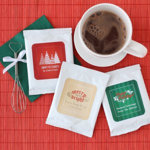 Personalized Holiday Hot Chocolate