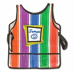 Children's Striped Art Smock