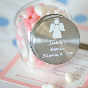 Personalized Party Glass Favor Jar